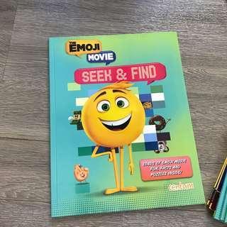 🚚 Emoji movie activity book