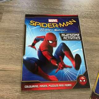 🚚 Spider-Man home coming activity book