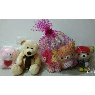 All New Soft Plush Toys (5 Pieces)