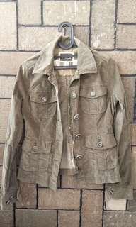 Army Jacket. Parka short