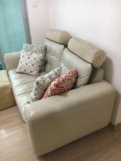 🆓免費❗兩座位皮沙發Sofa