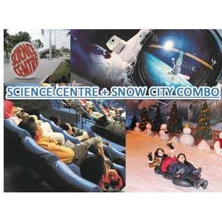 Science Centre + Snow City Combo - *PROMOTION*