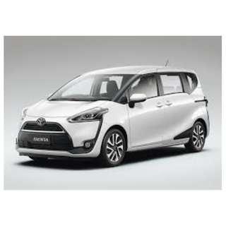 🚚 Toyota Sienta CAR RENTAL