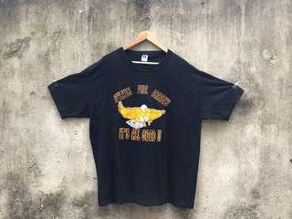 🚚 Vintage 古著二手 It's All Good 黑色老鷹T-Shirt 古著tee 美國製