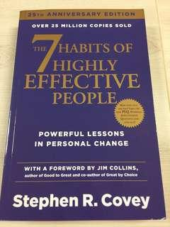 7 Habits of Highly Effective People - Stephen Covey (Brand New Paperback)