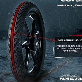 Tyre CORSA Sport Rain ReadyStock