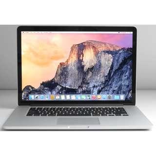 MacBook Pro Retina 15-inch Core i7 2.6GHz (Late 2013)