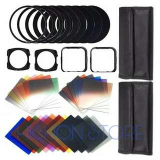 Filter ND GND Tipe Cokin P Fullset 24 Filter 9 Ring 2 Bag