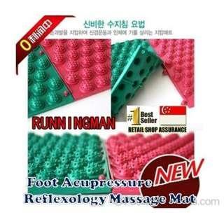 Healthy Reflexology Massage Mat Korea Running Man Spike Acupressure foot pad blood circulation runningman Compression Walk Massager Health Care