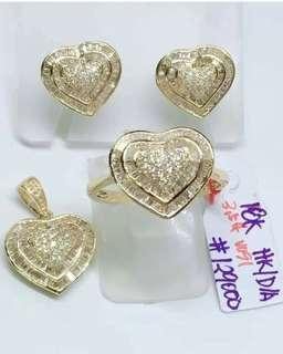 18k HK DIAMOND SET