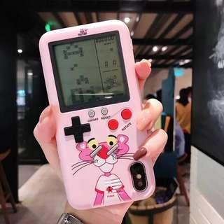 Case Hp iphone x tetris pink panther