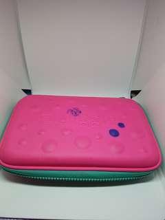 🚚 Pink hardtop pencilcase