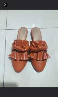 Sandal selop Fladeo brown