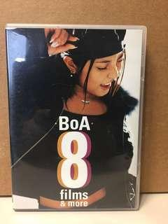BoA 8 films & more DVD