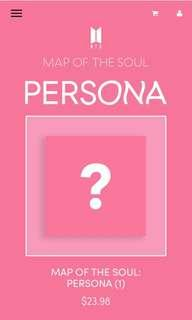 bighit shop! non-profit internal trading bts map of the soul: persona