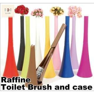 花瓶式廁所刷 (六色選擇)