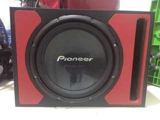 """Pioneer Champion Series Woofer 12"""" with box"""