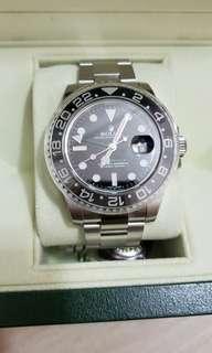 Rolex GMT 錄針 行貨 全新