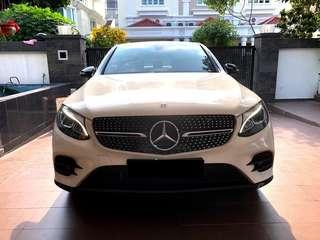 MERCEDES BENZ GLC250 4MATIC COUPE AUTO