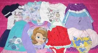 Set D baby girl 4-5yrs old