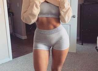 seamless shorts (grey) limited edition