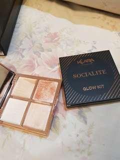 Klara Cosmetics Glow Kit Highlighter Palette