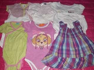 Set C baby girl 12-18mos