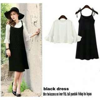 black dress MURAH