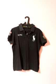 Polo black shirt