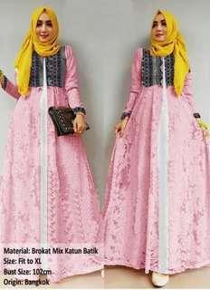 Maxi Dress FREE Pashmina