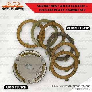 SUZUKI BEST AUTO CLUTCH + CLUTCH PLATE COMBO SET!