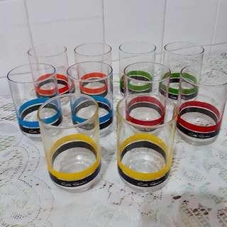 BN 10pcs water glass cups/ mugs set