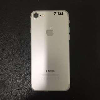 iPhone 7 128gb Silver Ex Zpa fullset Mulus Bisa Tt