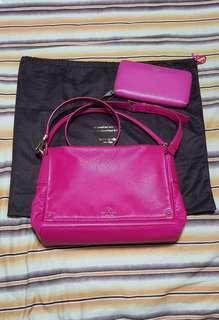 SALE! Kate spade bag and wallet set