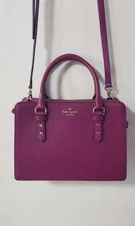 Kate Spade Mulberry Street Lise Handbag / Shoulder Bag
