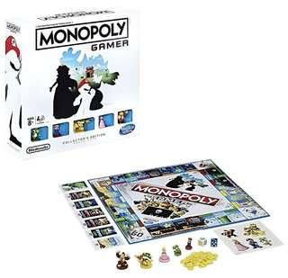 Brand New Collectors Edition Monopoly Gamer Nintendo