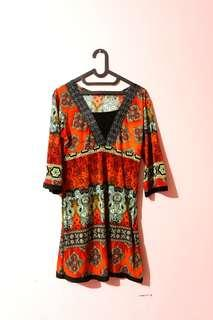 Boho dress / etnik / tribal / maternity dress