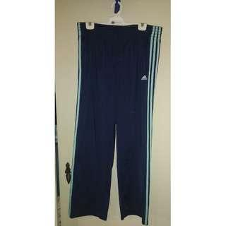 Adidas navy mint tracksuit pants
