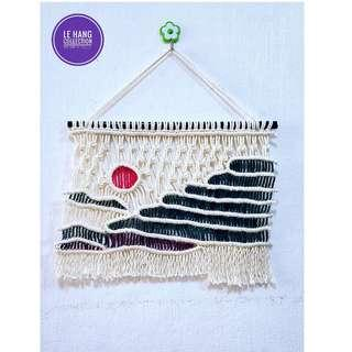 🏞Macrame Terraced Rice Fields Wall Hanging🏞