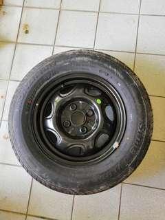 """Tyre & Rim 13"""""""
