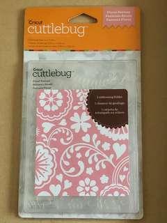 FLORAL FANTASY, Cricut Cuttlebug Embossing Folder
