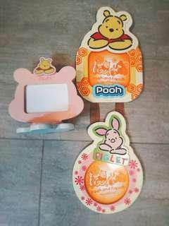 Winnie the pool 相架 共$70