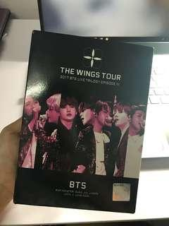 BTS WINGS TOUR DVD