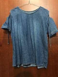 T-shirt Bahan Jeans Termurah