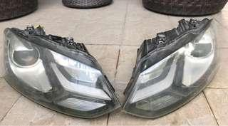 VW Polo Headlamp