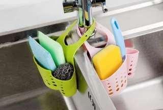 洗碗海綿漏水掛籃
