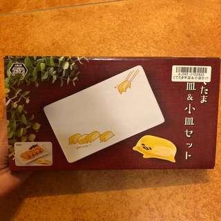 Toreba 日本景品 蛋黃哥 碟套裝