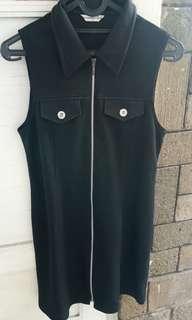 Black dress. Dress hitam.
