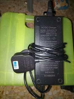 60v charger / 67.2v / escooter / pmd / fiido / dyu / tempo / am / dualtron / safety mark