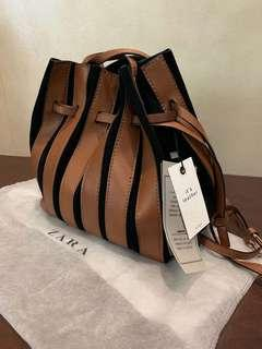 🚚 Brand new Zara Leather Suede Bag